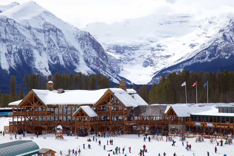 Lake Louise Ski Resort, Alberta, Canada
