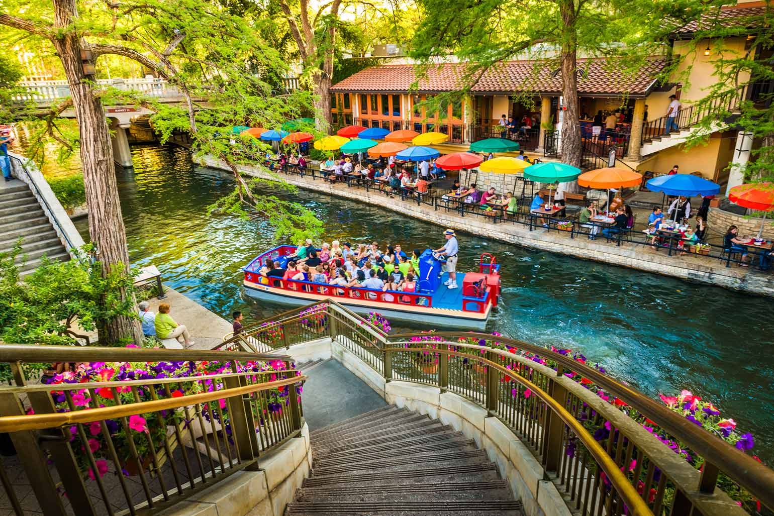 The Riverwalk, the San Antonio Park Scenic Canal
