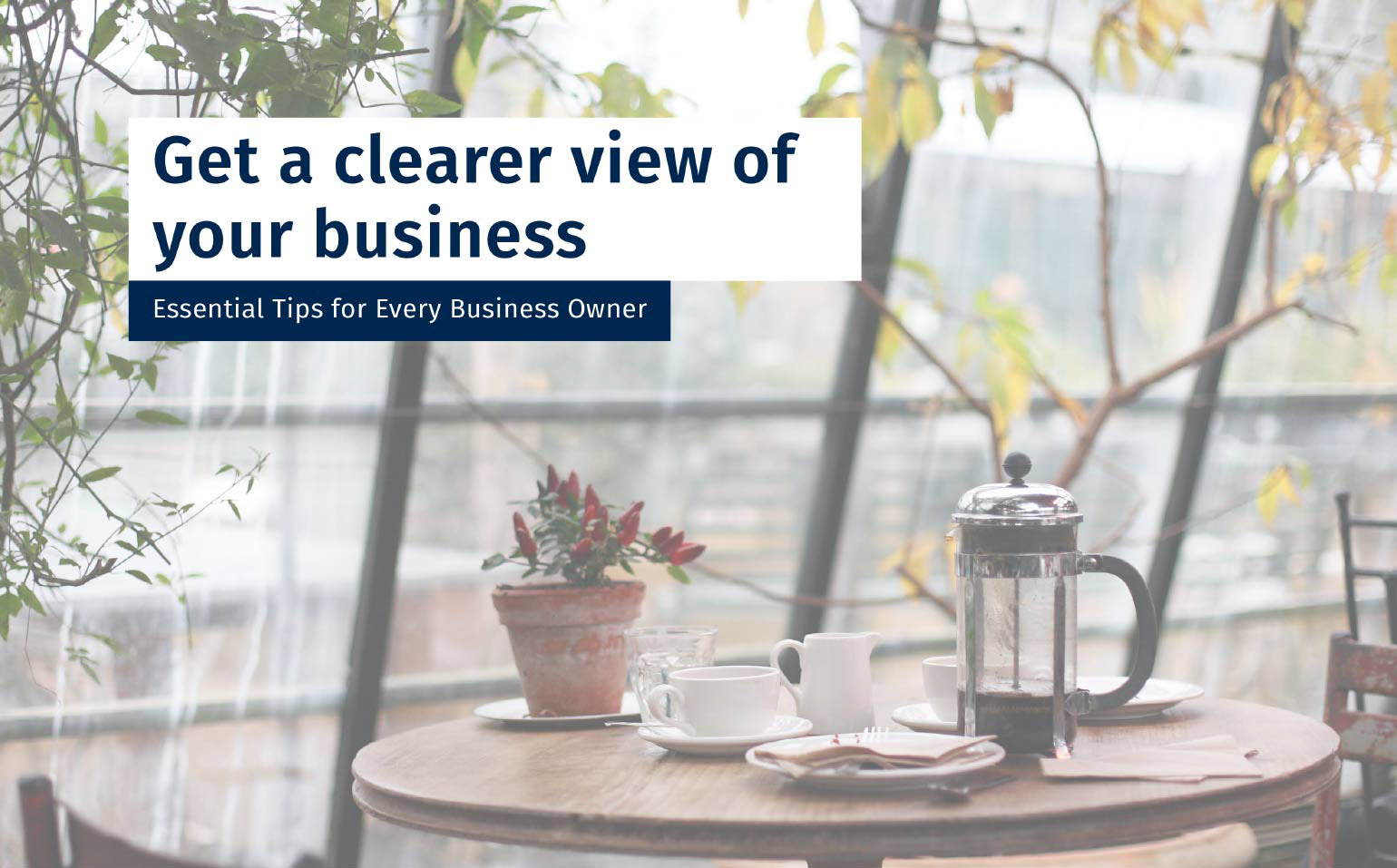 Get a Clearer View of Your Business - Essential Tips for Every Business Owner