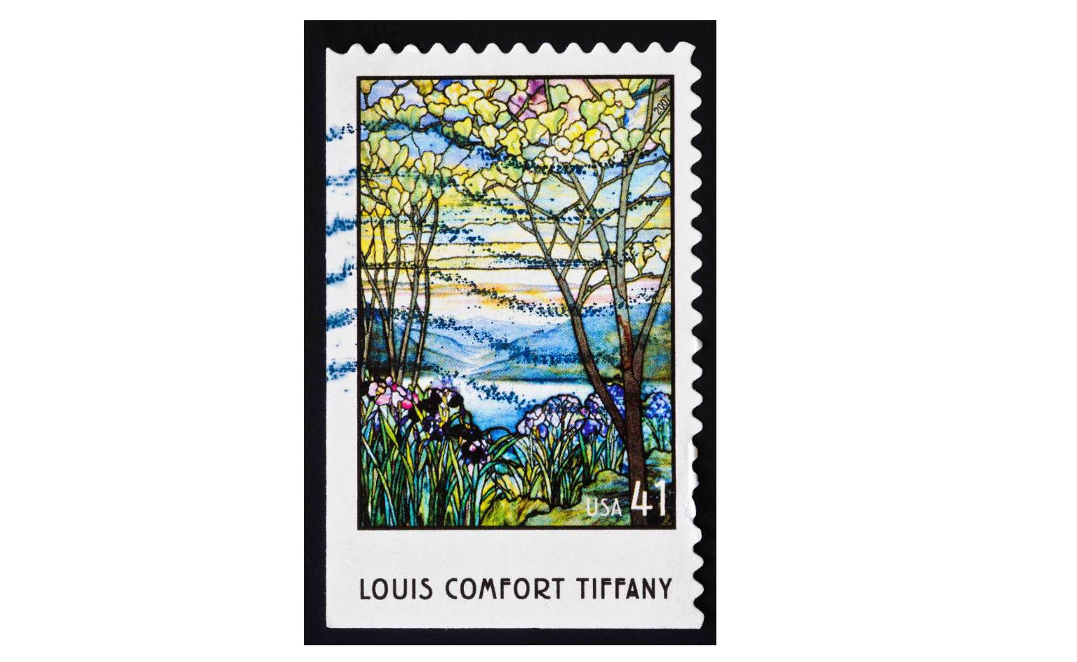 Louis Comfort Tiffany Stamp