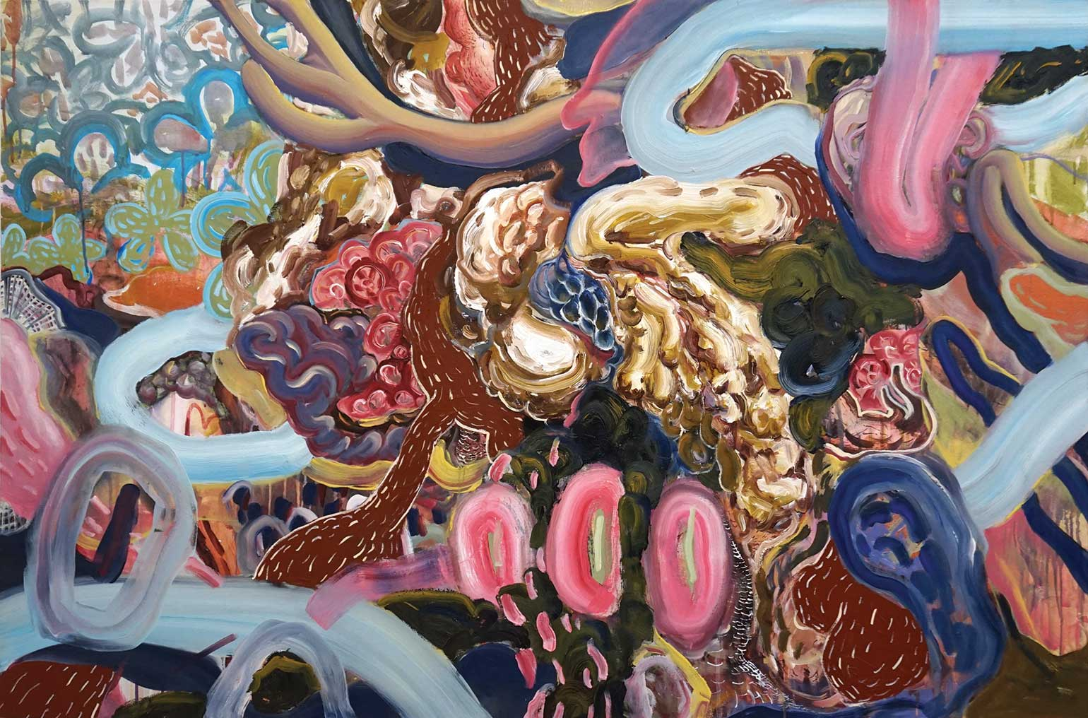 Wei Li - Obsessiveness and excitement, never growing out of them, 2017