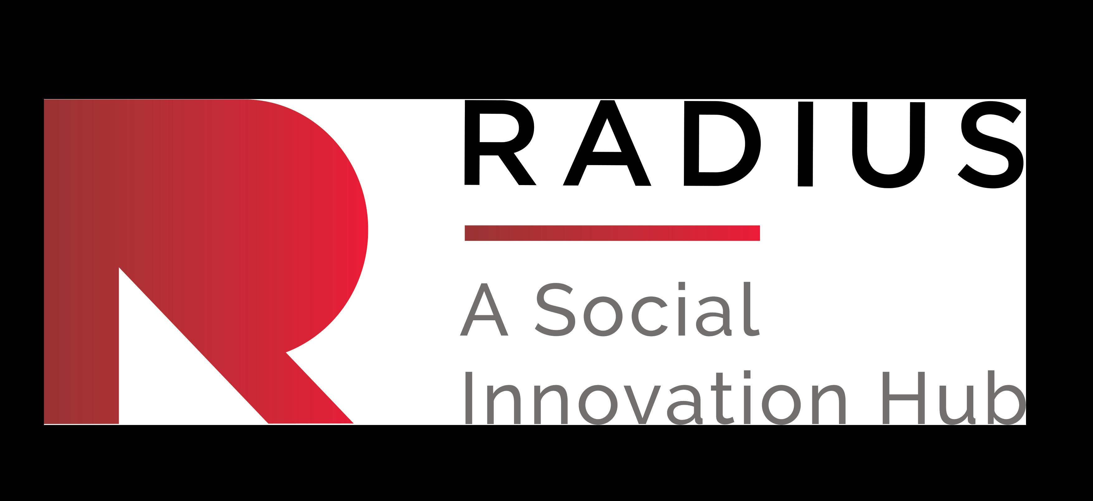 Radius logo - A Social Innovation Hub